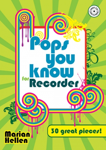 Pops You Know: 30 Great Pieces: Recorder and Piano