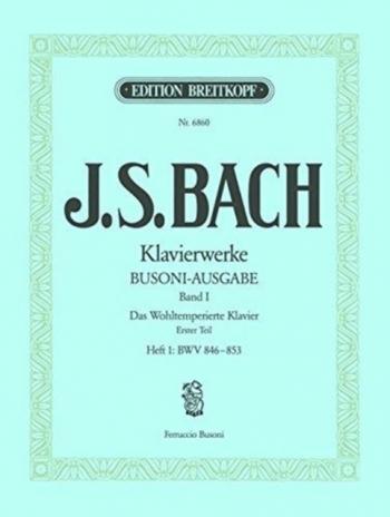 Klavierwerke Vol.19: Preludes And Fugues: (BWV 894,895,897,923,951) Piano (Breitkopf)