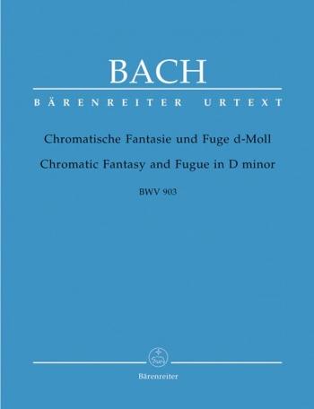 Chromatic Fantasy And Fugue D Minor: Piano  (Barenreiter)