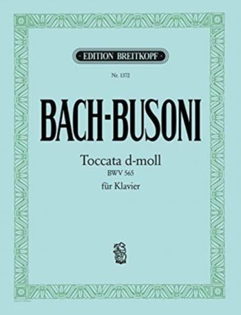 Toccata In D Minor: Piano (Breitkopf)