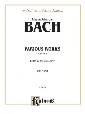 Various Works: Vol.2: Piano