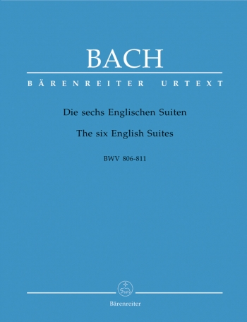 6 English Suites: Piano  (Barenreiter)