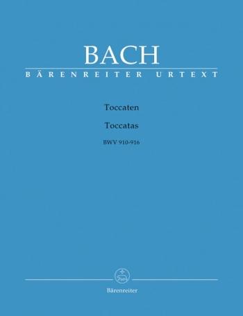 Toccatas: Bwv910- 916: Piano  (Barenreiter)
