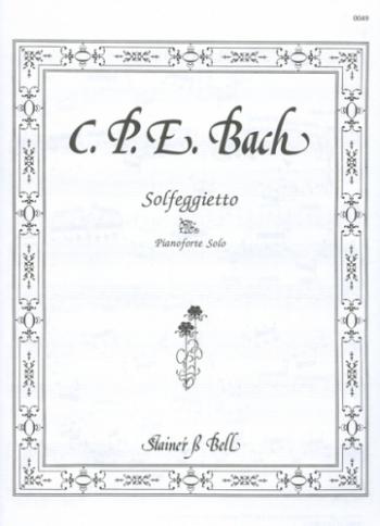 Solfeggietto: Piano  (Stainer & Bell)