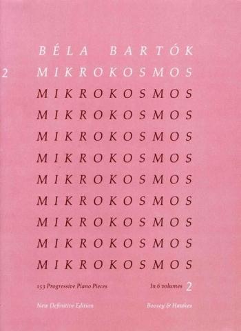 Mikrokosmos Vol.2: Piano (Boosey & Hawkes)