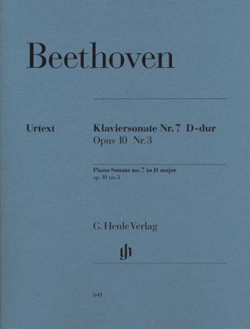 Piano Sonata D Major Op10/3 Piano (Henle)