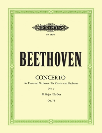 Piano Concerto No.5 Eb Major Op.73 Emperor Two Pianos  (Peters)