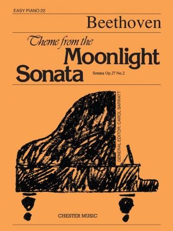 Moonlight Sonata Theme: Piano (Chester)