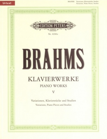 Piano Works (Klavierwerke): Book 5 (Peters)