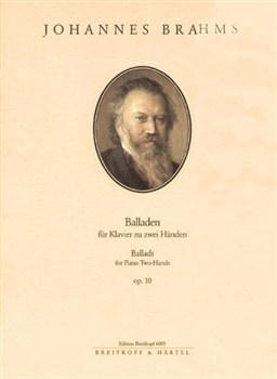 Ballads: Op.10: Pian (Breitkopf)