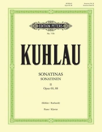 Sonatinas Vol.2: Op.60 & 88 Piano (Peters)