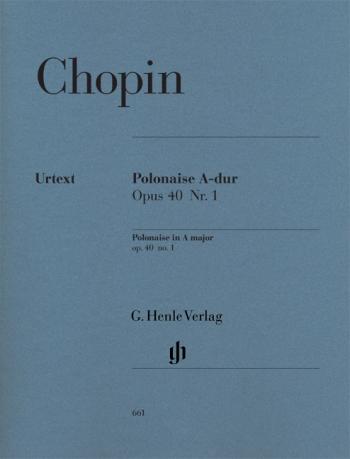 Polonaise Op.40/1 A Major: Piano  (Henle)