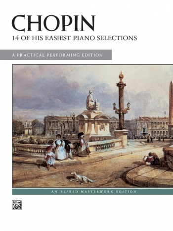 14 Of His Easiest Piano Selections: Piano (Alfred)