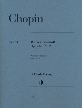 Waltz Op.64/2  C# Minor: Piano  (Henle)
