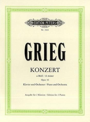 Concerto A Minor Op16: Piano (Peters)