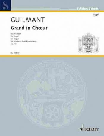 Grand Choeur In D: Organ