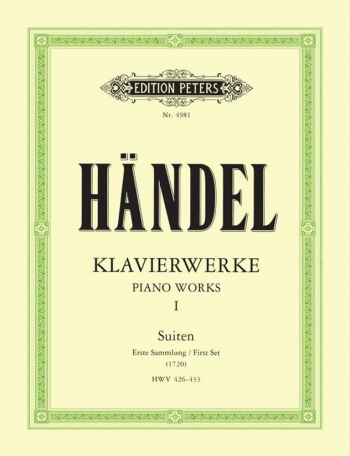 Piano Works (Klavierwerke): Vol.1: Piano  (Peters)