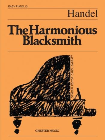 Harmonious Blacksmith The: Piano (Chester Ed)
