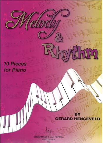 Melody & Rhythm (Melodie En Rhythme) 10 Pieces For Piano (Broekmans)