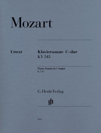 Piano Sonata: C Major Kv545: Piano  (Henle Ed)