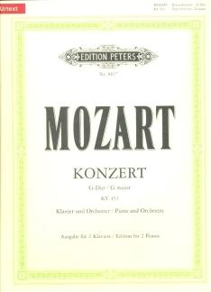 Concerto In G Major:  Kv453: Piano (Peters)