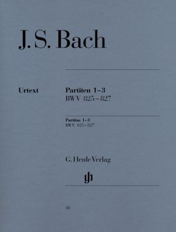 Partitas: No.1-3: Piano (Henle)