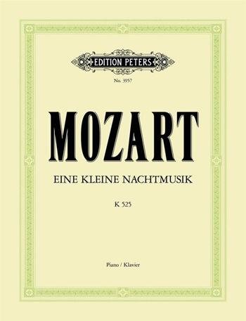 Eine Kleine Nachtmusik K525: Piano  (Peters)