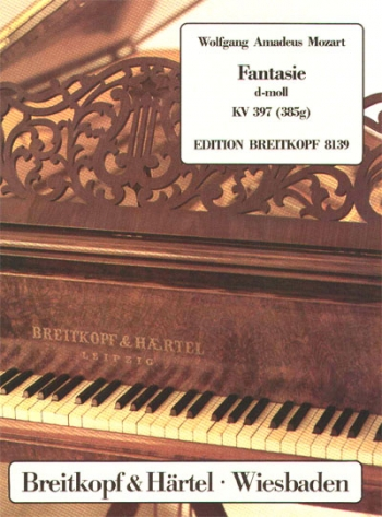 Fantasy : D Minor:  Kv397: Piano  (Breitkopf)