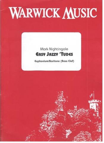 Easy Jazzy Tudes: Bass Clef: Euphonium Book & Cd (nightingale)