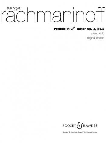 Prelude In C# Minor Op.3 No.2: Piano  (Boosey & Hawkes)