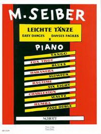 Easy Dances: Piano Duet (Schott)