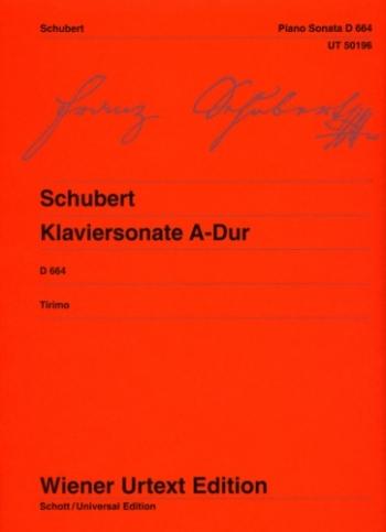 Sonata: A Major: Op.120: Piano  (Wiener Urtext)