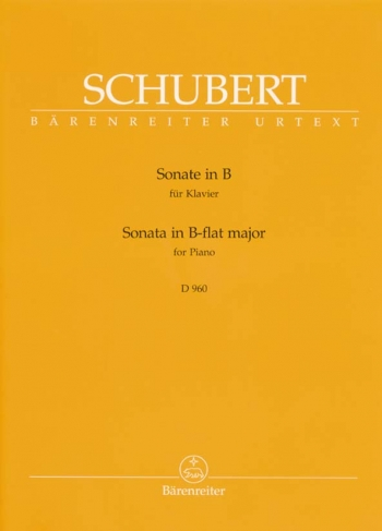 Sonata: Bb Major: Piano  (Barenreiter)
