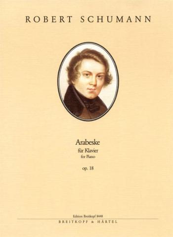 Arabeske Op.18: Piano  (Breitkopf)