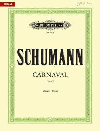 Carnaval Op.9: Piano (Peters)