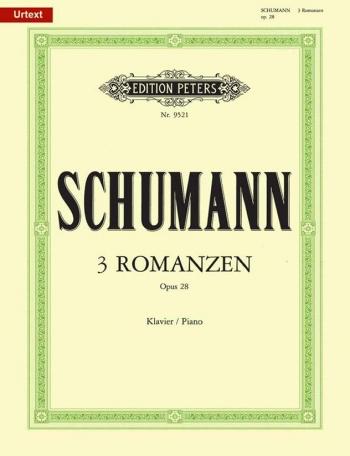 3 Romances Op.28: Piano (Peters)