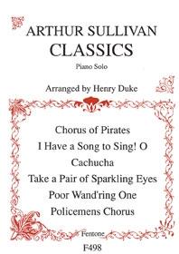 Arthur Sullivan Classics: Piano (Fentone)