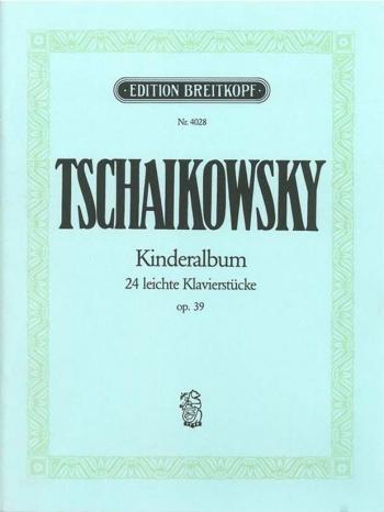 Kinderalbum Op39: Piano  (Breitkopf)