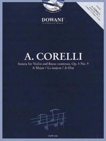 Sonata: Op5 No9: A Major: Violin And Piano (Dowani)