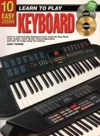 10 Easy Keyboard Lessons Teach Yourself: Book and CD