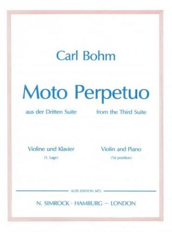 Moto Perpetuo: Violin & Piano (Simrock)
