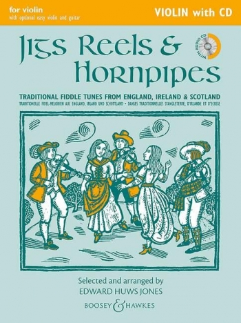 Jigs Reels & Hornpipes: Violin Part & Cd  (huws Jones)  (New Edition)
