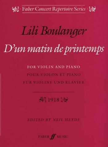 Dun Matin De Printemps: Violin (Faber)
