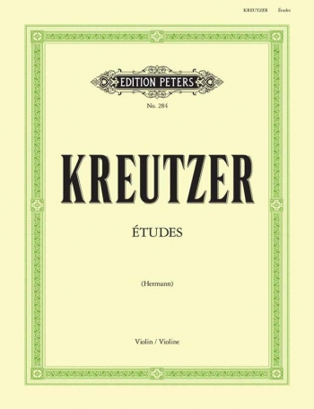 42 Violin Studies (Hermann) (Peters)