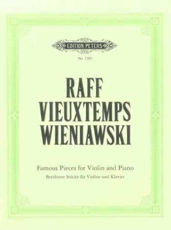Famous Pieces: Violin and Piano (Peters)