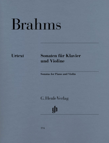 Sonatas Op78,100,108: Violin and Piano (Henle)