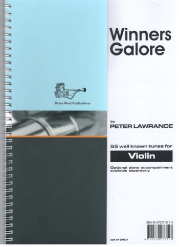 Winners Galore: Violin Part (lawrance)