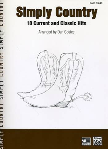 Simply Country: 18 Current And Classic Hits: Easy Piano