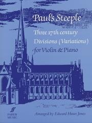Pauls Steeple: Violin & Piano  (huws Jones) (Faber)