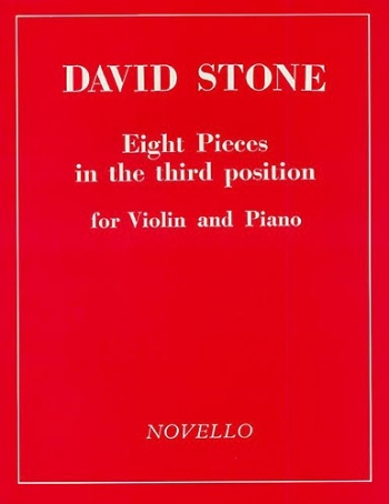 8 Pieces In The Third Position: Violin and Piano